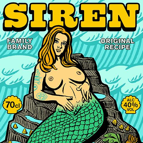 Siren Navy Rum